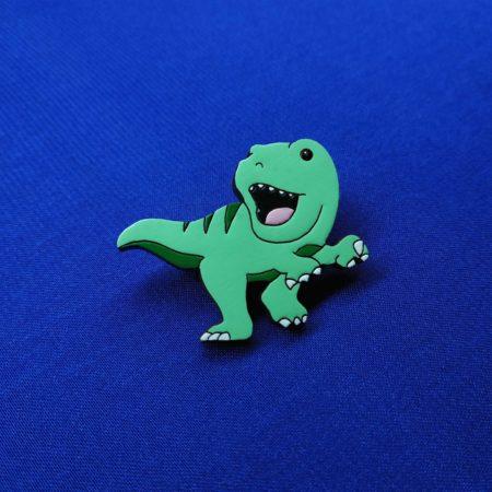 Значок Динозаврик