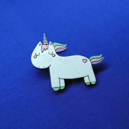 Значок Единорог соня (Unicorn)