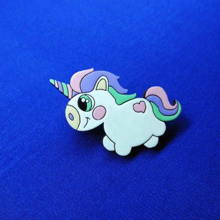 Значок Единорог пухленький (Unicorn)