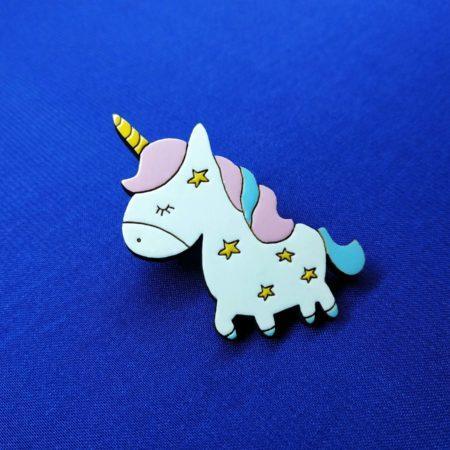 Значок Единорог звезда (Unicorn)