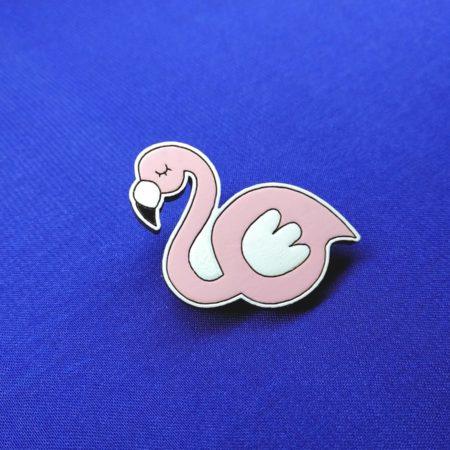 Значок Фламинго