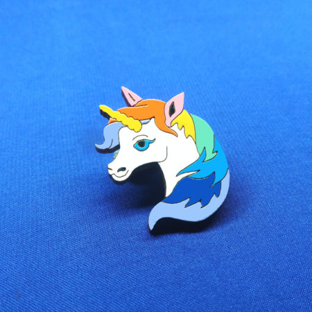 Значок Единорог Лошадка (Unicorn)