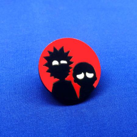 Значок Рик и Морти (Rick and Morty)