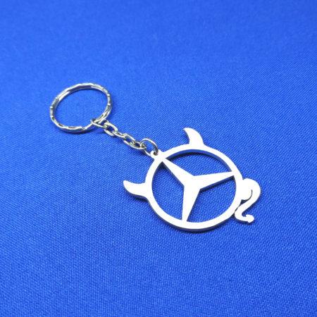 Автомобильный брелок Мерседес Чертик (Mercedes)