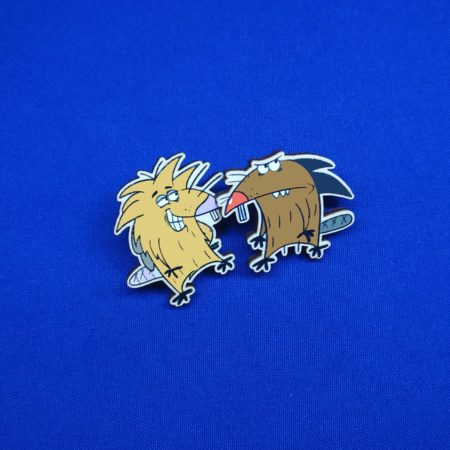 Значки Злюки бобры (The Angry Beavers)