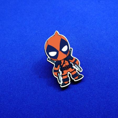Значок Мини Дэдпул (Deadpool)