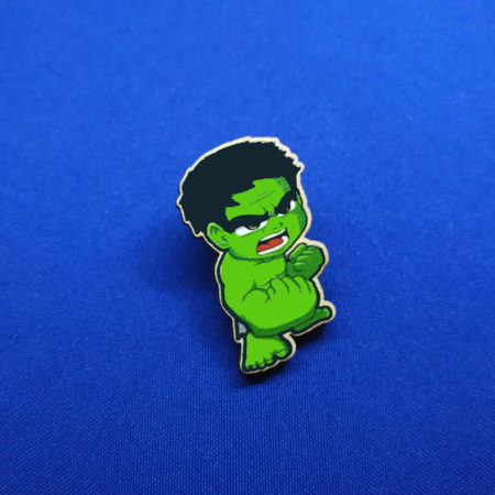 Значок Мини Халк (Hulk)
